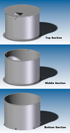 Roddy Water Tank Sections